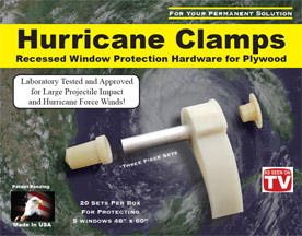 The Patented Hurricane Clamp